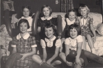 Fran Merrill Birthday Party 1950