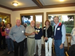 Friday Night Gathering - Meadow Park Golf Club Grille 9-16-2011:  Prentis Hunsinger, Rich Roach, LuAnn Peterson Roach, K