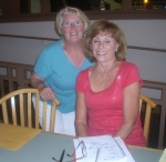 Sandy Torfin Bassett and Karen Kasemeier