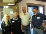 Gina & Ron Eaton, Gary Mustain, and Rich Linbo