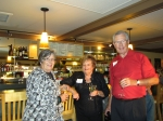 Donna Huseby Crabbe, Judy Heiser Lahenbauer, and Bill Dallas