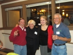 Cameron Perry, Mary McCain McAllister, Barbara Rieck Morrow, and Gary Mustain