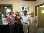 Evelyn Dunman Smith, Sue Mead Grinstein, Chuck Creesy, and TerryLee Gibson Cox