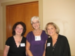Mary Ellen Johnson (Class of '62), Jacque Sumner George, Sharon Hodges (Class of '64)