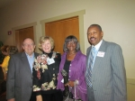 Joe & Sandy Nelson Winston and Issy & Gwen Seales Washington
